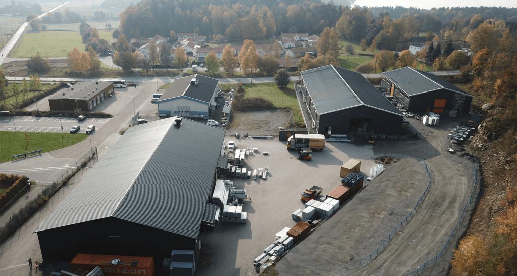 MonZon World Headquarters in Sätila, Sweden.